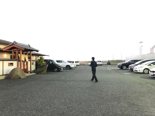 海幸の宴 駐車場