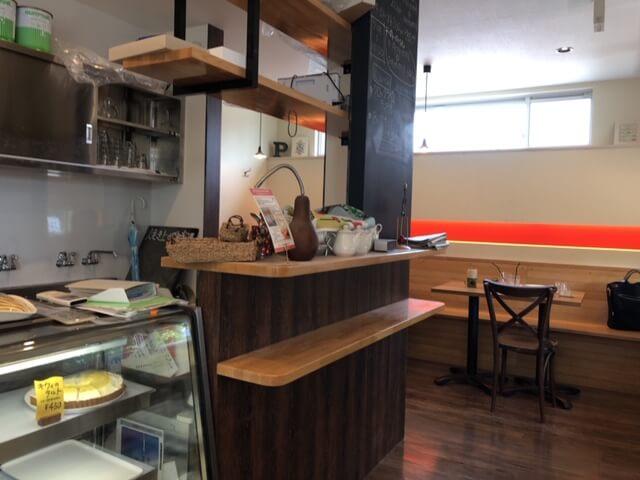 パンポルカ カフェスペース