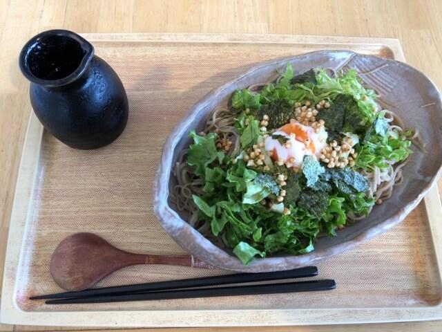 ソバカフェ エン サラダ蕎麦