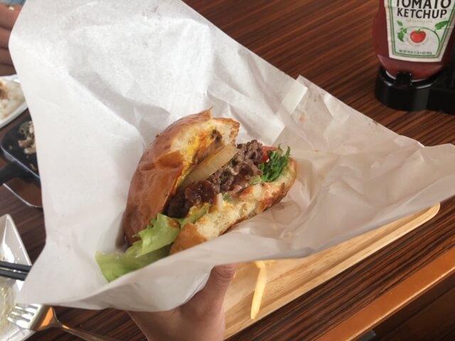 ランチ・ハンバーガー
