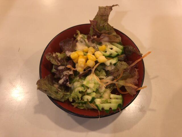10円サラダ