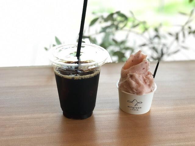 ミルグリーン コーヒー