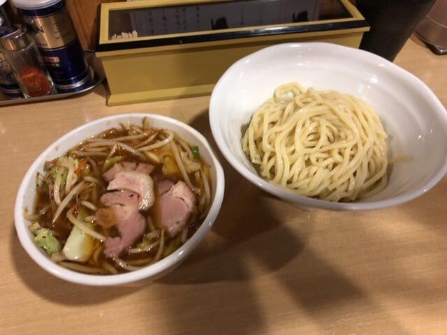 辛 野菜つけ麺