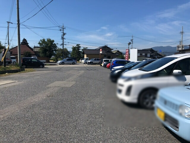 あっぷるぐりむ小島田 駐車場