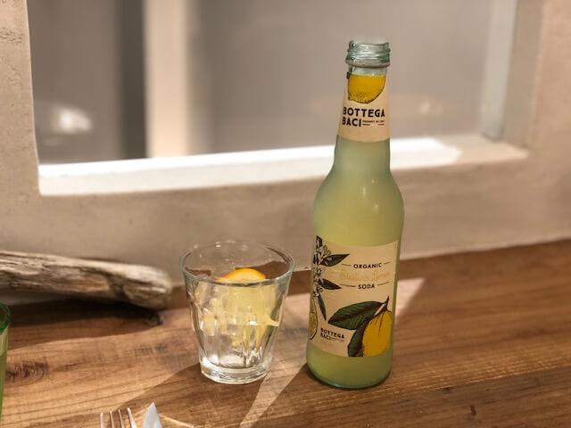 オーガニックレモンソーダ