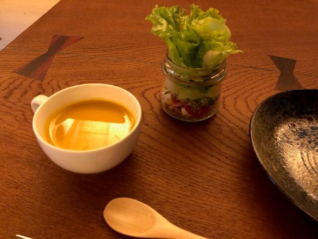 スープ ジャーサラダ