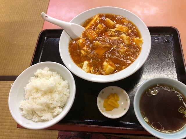 マーボー豆腐定食