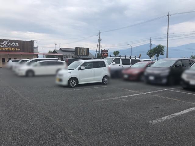 福庵 駐車場