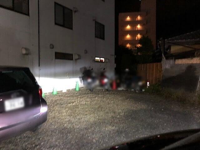 篠ノ井あお輝 駐車場