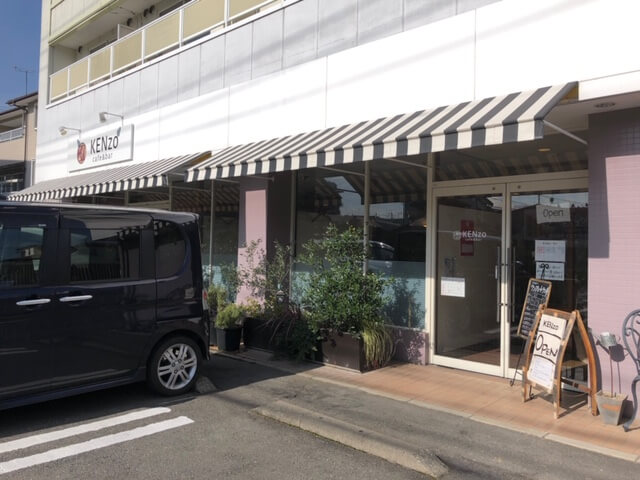 KENzo cafe&bar 駐車場