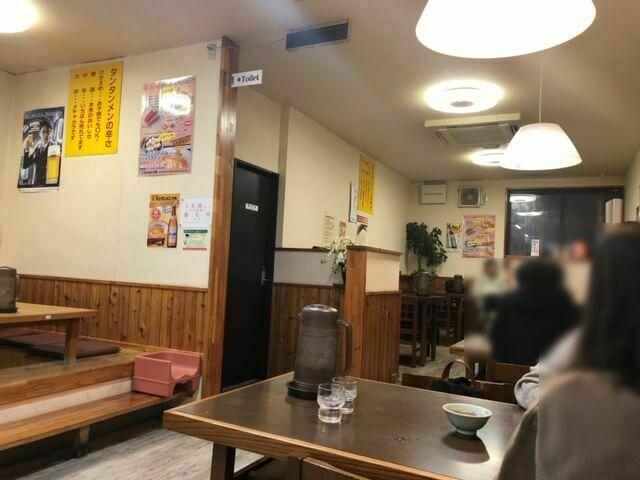 元祖ニュータンタンメン本舗 上田店 店内