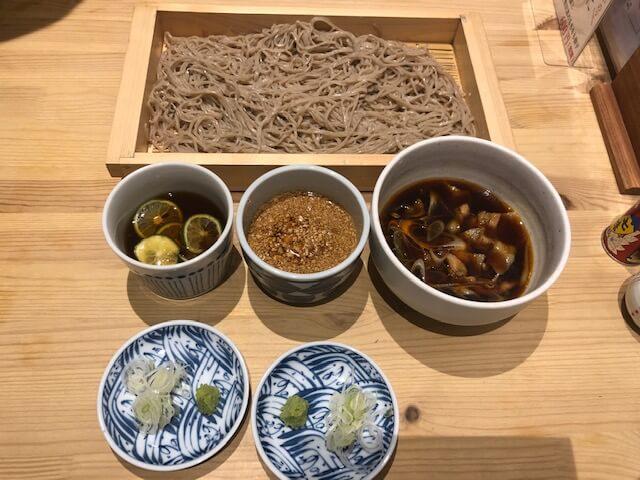 音菜の蕎麦板
