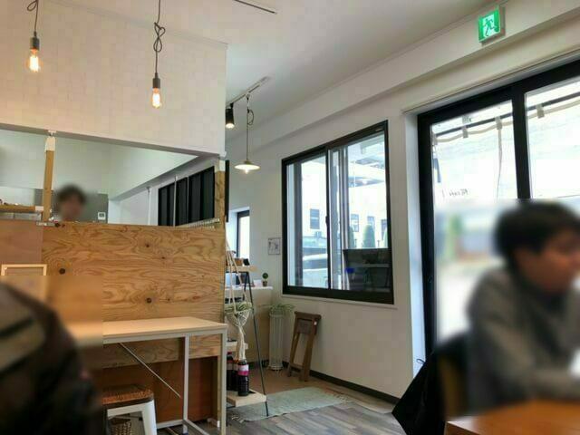 糀cafe maruyuki 店内