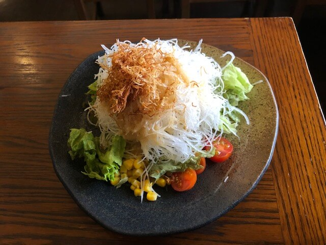 大盛り大根サラダ