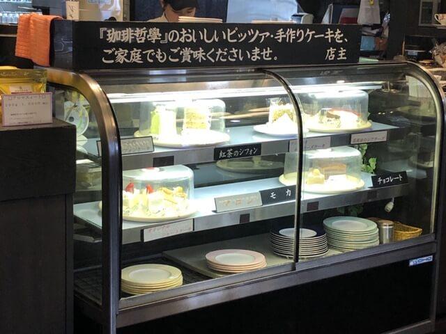 珈琲哲學 アグリ篠ノ井店 店内