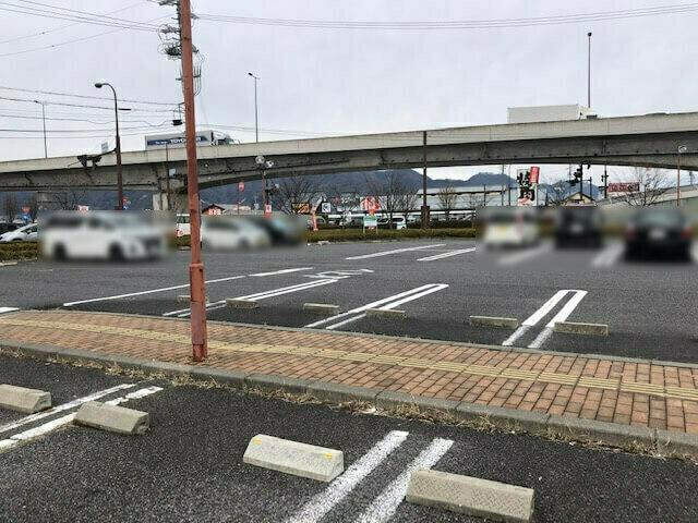 むぎの里 長野稲里店 駐車場
