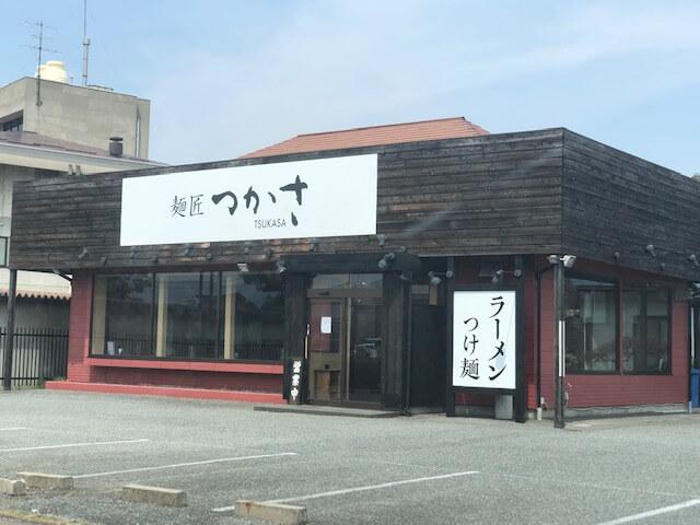 麺匠つかさ篠ノ井 駐車場