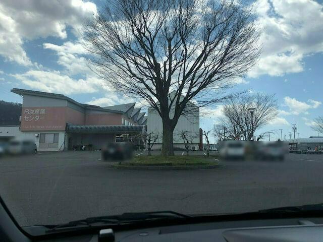 OBUSE花屋 駐車場