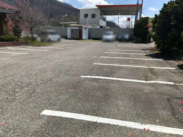 レストラン四季 駐車場