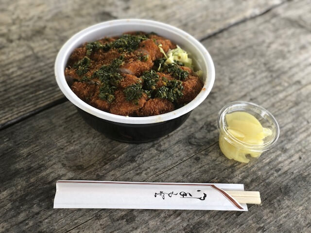 ニンタレカツ丼