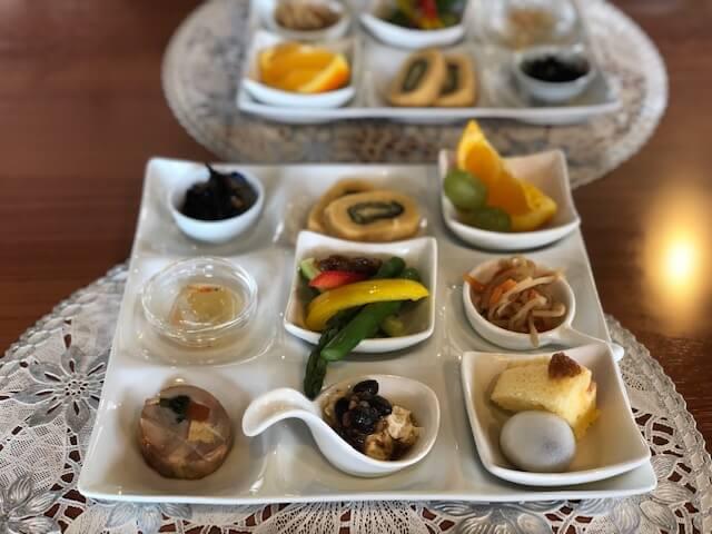 9種類の前菜プレート