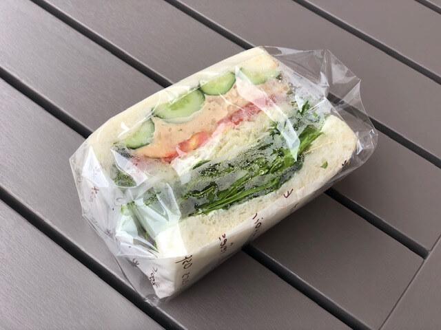 ツナ&野菜のボリュームサンド