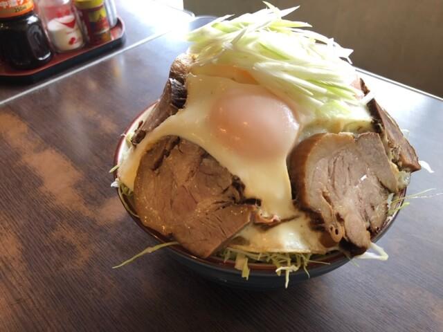 チャーシューエッグ丼6枚