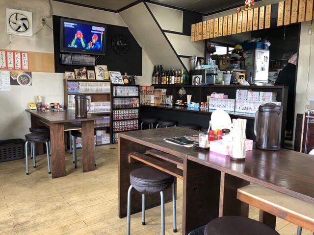 麺屋 Ossan(おっさん) 店内