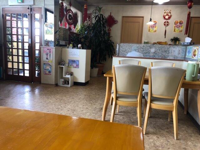 台湾料理 鮮味館(せんみかん) 長野稲里店 店内
