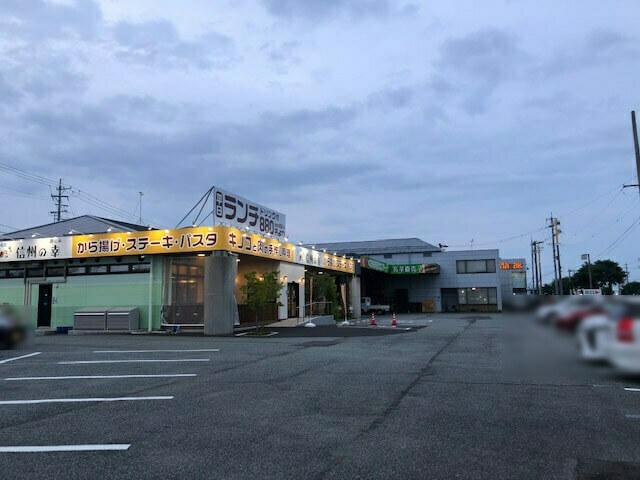 信州の幸 駐車場